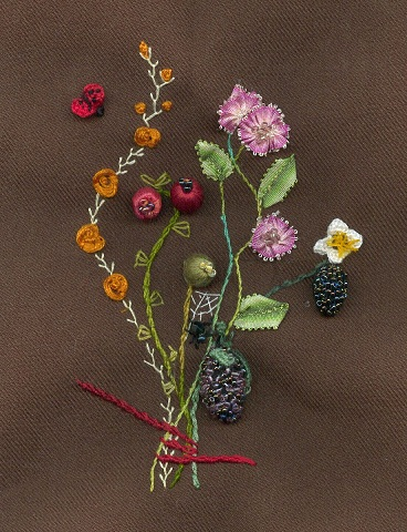 bouquet in Stumpwork 2