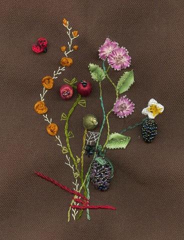 bouquet in Stumpwork 2