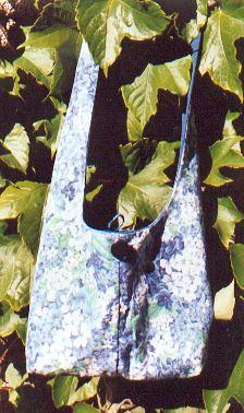 sac aux hortensias