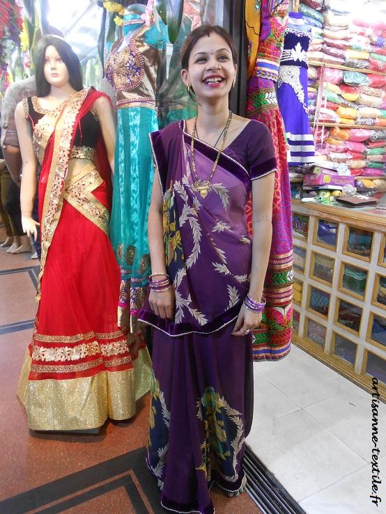 diwali garland in a shop (2)