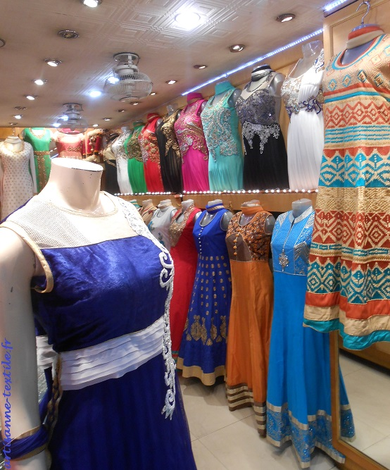 collection of dresses, shop in Kolkata