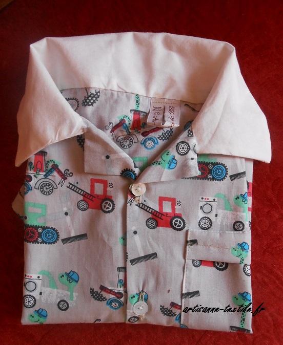 chemisette d'été tissu Draper