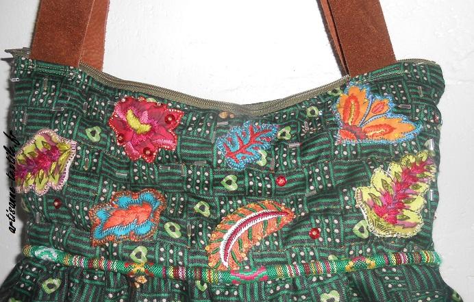 detail sac indien