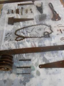 Préparation simple d'une teinture-maison à la rouille