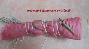 paquet de soie pour eco-print