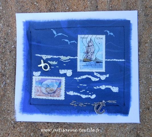 bleue, la mer, bleu du cyanotype