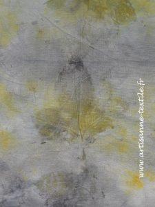 împression de feuilles par éco-print4