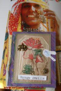 carte-textile: voyage éveillé