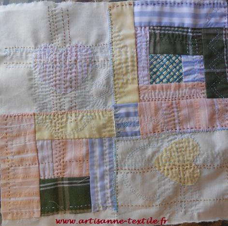 slow-stitching carré 1