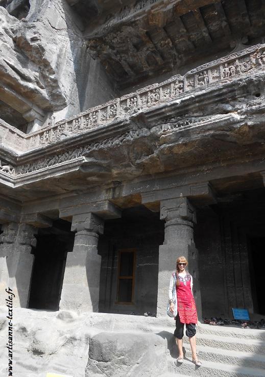 Inde: Maharashtra; Ellora