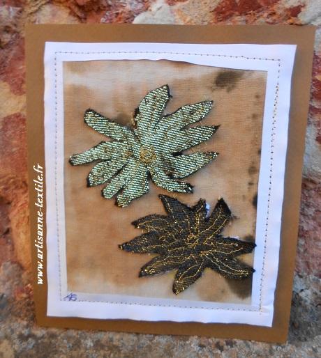 Carte avant livre textile 1