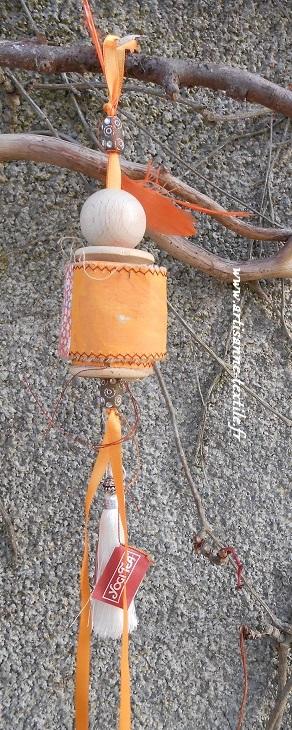 livre-textile rouleau autour d'une bobine