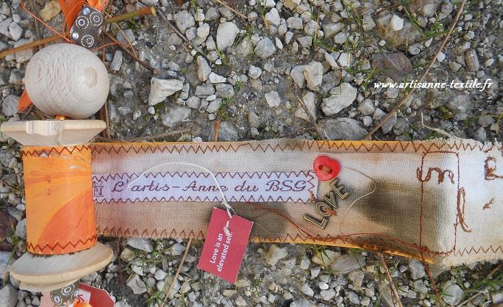 livre-textile rouleau, la fin