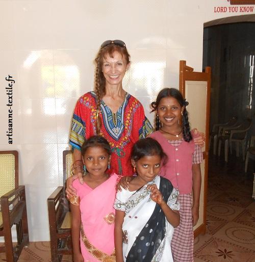 Fllettes en Inde