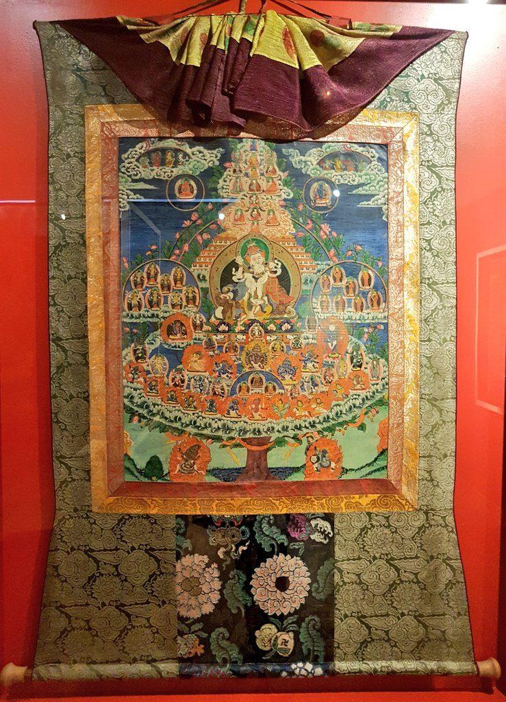 musée Paul dupuy expo textile (Thangka)