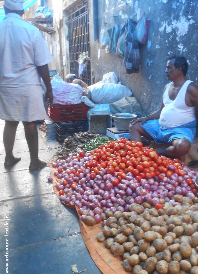 Marché de Pondichéry
