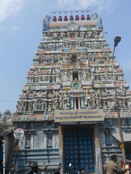 Temple d'Inde du sud, Pondichéry