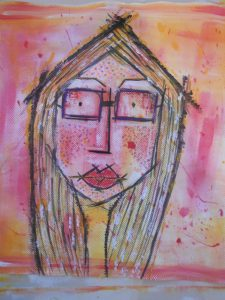 autoportrait textile