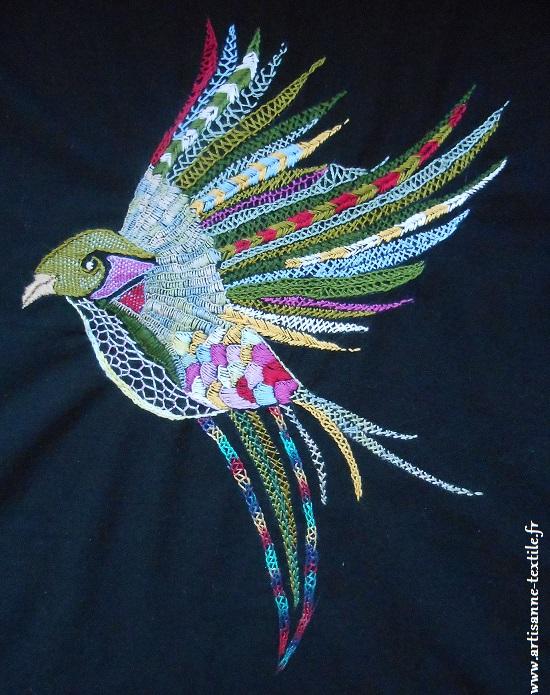 oiseau glazig d'après Pascal Jaouen