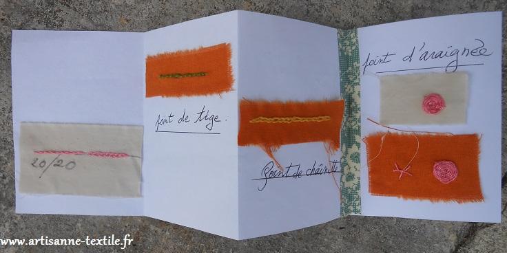 Cadeau: le carnet de broderie 2