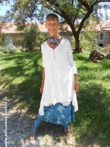 Robe de Peau d'âne, peau d'Anne, couleur du temps