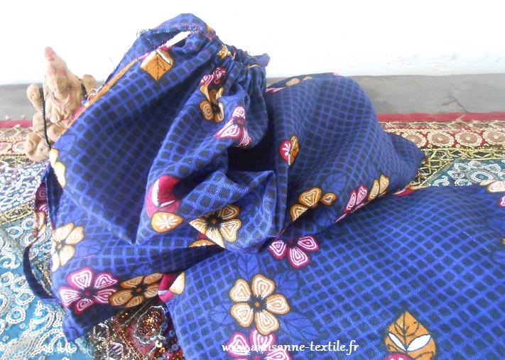 Pochons de l'artisane-textile