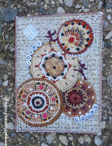 Trpousse et carte textile 1
