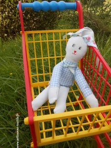 doudou DIY: le lapin