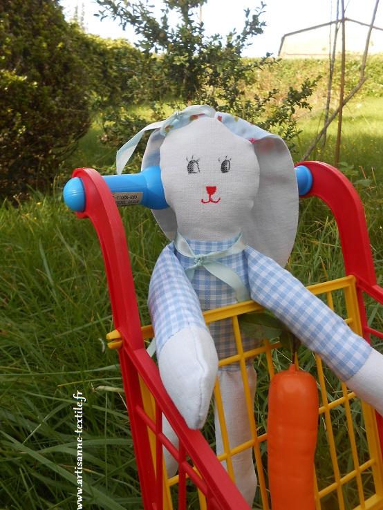 doudou: un lapin DIY