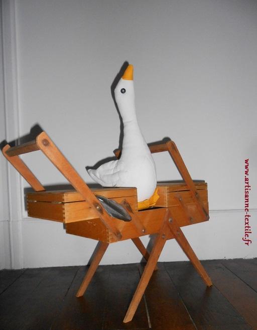doudou-textile: l'oie 1