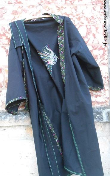 Kimono DIY brodé glazig