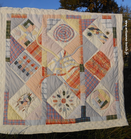 patchwork ou quilt chemises Michel