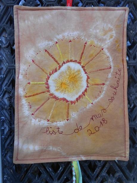 Voeux -textiles de fin d'année au piqué libre