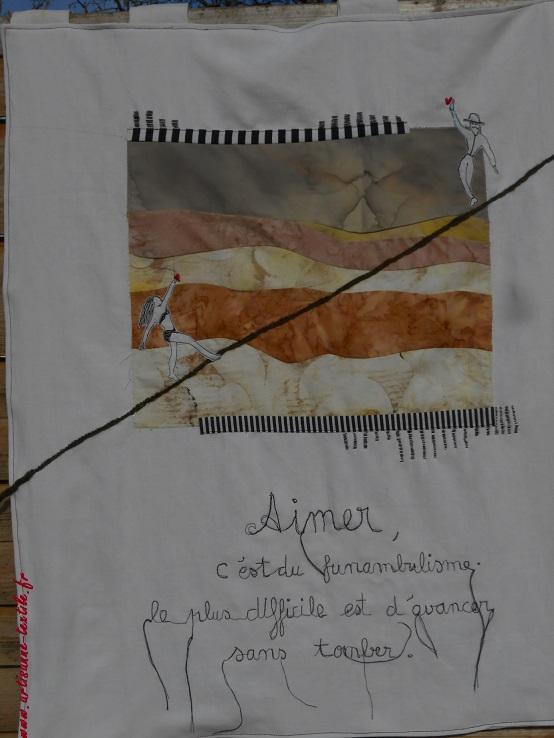Art textile, Varaignes 2018