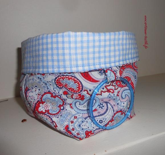 couture 3: une corbeille vide- poche
