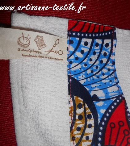 couture 2: serviette customisée