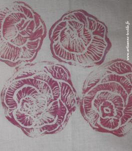 rose linogravure 3