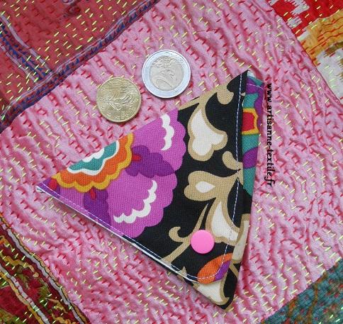 cadeau DIY: porte-monnaie triangulaire