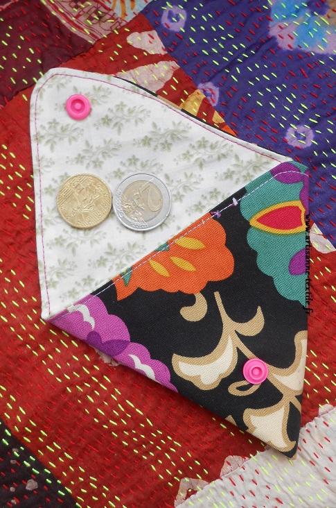 Cadeaux DIY: porte-monnaie triangulaire