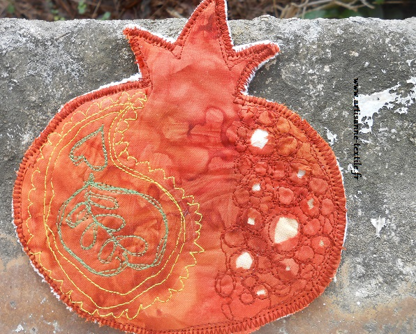 carte textile grenade 2