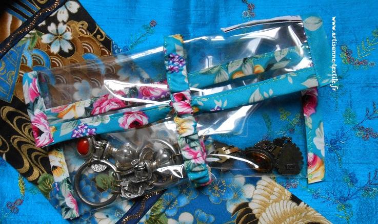 cadeau DIY: pochette transparente d'abracadacraft