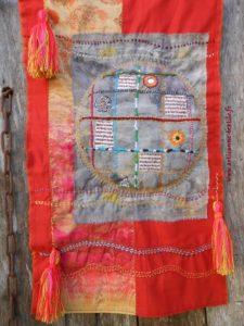 mandala textile et mondes infinis