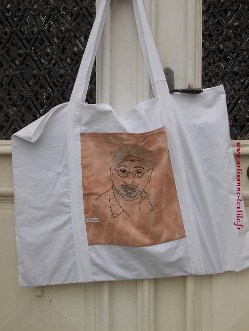 sac d'artiste et porte-cartons à dessins