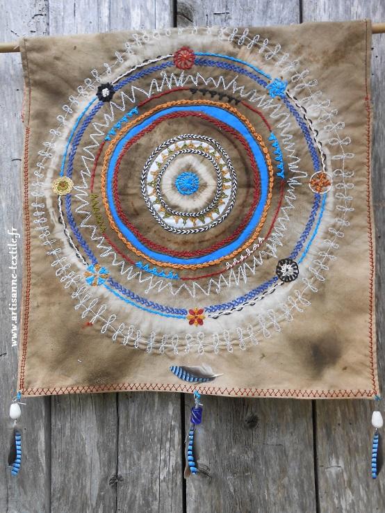 Mandala textile de la légéreté (4°)