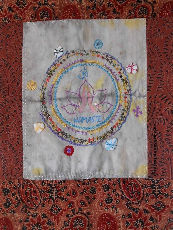 Namasté: mandala des 4 pierres