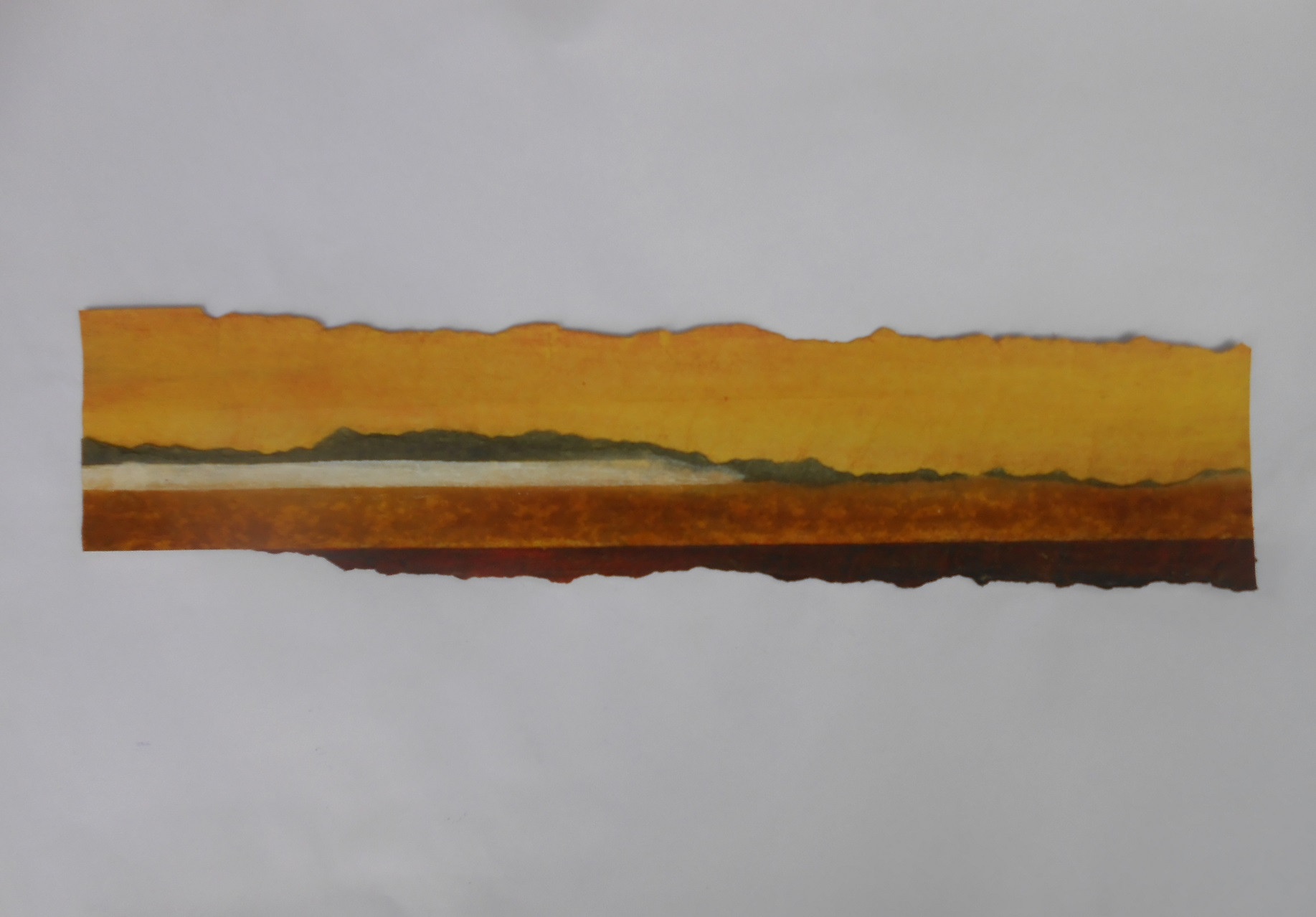 paysage inspiration textile