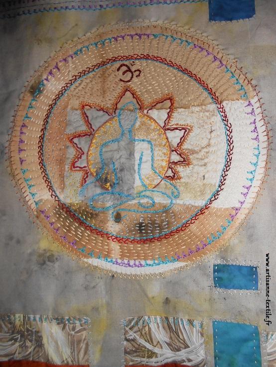 mandala textile du yogi