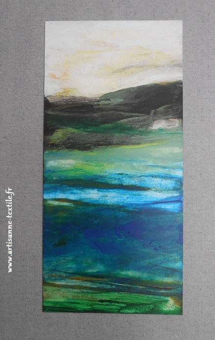 Peinture paysage de Marc Pierre Encina