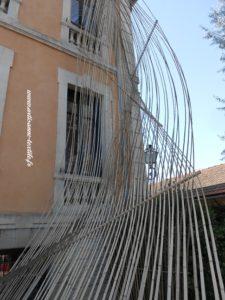 expo fondation Datris sculpture textile 1