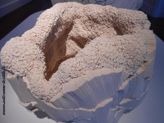 Expo fondation Datris à l'Isle sur la Sorgue, sculpture textile
